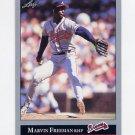 1992 Leaf Baseball #110 Marvin Freeman - Atlanta Braves