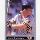 1992 Leaf Baseball #091 Steve Buechele - Pittsburgh Pirates