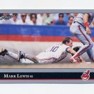 1992 Leaf Baseball #049 Mark Lewis - Cleveland Indians