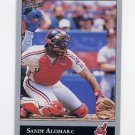 1992 Leaf Baseball #009 Sandy Alomar Jr. - Cleveland Indians