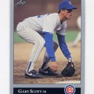 1992 Leaf Baseball #006 Gary Scott - Chicago Cubs
