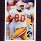 1994 Fleer Football #449 Lawrence Dawsey - Tampa Bay Buccaneers