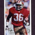 1994 Fleer Football #413 Merton Hanks - San Francisco 49ers
