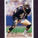 1994 Fleer Football #321 Toi Cook - New Orleans Saints