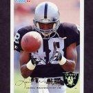 1994 Fleer Football #248 Lionel Washington - Los Angeles Raiders