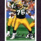 1994 Fleer Football #169 Harry Galbreath - Green Bay Packers