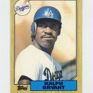 1987 Topps Traded Baseball #012T Ralph Bryant - Los Angeles Dodgers