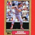 1987 Topps Baseball #782 Brian Downing - California Angels