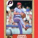 1987 Topps Baseball #771 Shane Rawley - Philadelphia Phillies