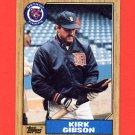 1987 Topps Baseball #765 Kirk Gibson - Detroit Tigers