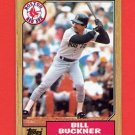 1987 Topps Baseball #764 Bill Buckner - Boston Red Sox