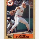1987 Topps Baseball #748 Mike Flanagan - Baltimore Orioles