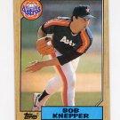 1987 Topps Baseball #722 Bob Knepper - Houston Astros