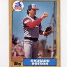 1987 Topps Baseball #720 Richard Dotson - Chicago White Sox