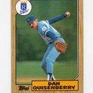1987 Topps Baseball #714 Dan Quisenberry - Kansas City Royals