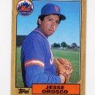 1987 Topps Baseball #704 Jesse Orosco - New York Mets