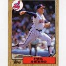 1987 Topps Baseball #694 Phil Niekro - Cleveland Indians