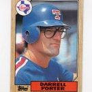 1987 Topps Baseball #689 Darrell Porter - Texas Rangers