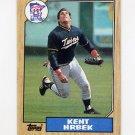 1987 Topps Baseball #679 Kent Hrbek - Minnesota Twins