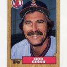 1987 Topps Baseball #677 Bob Grich - California Angels