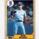 1987 Topps Baseball #669 Bud Black - Kansas City Royals