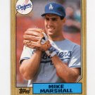 1987 Topps Baseball #664 Mike Marshall - Los Angeles Dodgers