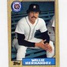 1987 Topps Baseball #515 Willie Hernandez - Detroit Tigers NM-M