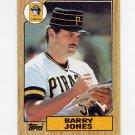 1987 Topps Baseball #494 Barry Jones - Pittsburgh Pirates