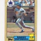 1987 Topps Baseball #476 Danny Tartabull - Seattle Mariners