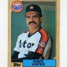1987 Topps Baseball #445 Dave Lopes - Houston Astros NM-M