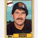 1987 Topps Baseball #428 Bruce Bochy - San Diego Padres