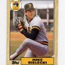 1987 Topps Baseball #394 Mike Bielecki - Pittsburgh Pirates