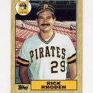 1987 Topps Baseball #365 Rick Rhoden - Pittsburgh Pirates