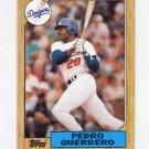 1987 Topps Baseball #360 Pedro Guerrero - Los Angeles Dodgers