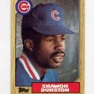 1987 Topps Baseball #346 Shawon Dunston - Chicago Cubs