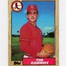 1987 Topps Baseball #338 Tim Conroy - St. Louis Cardinals Ex