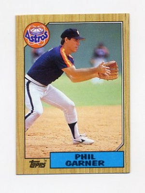 1987 Topps Baseball 304 Phil Garner Houston Astros