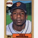 1987 Topps Baseball #286 Mike Woodard - San Francisco Giants