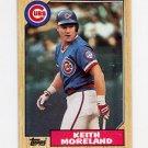 1987 Topps Baseball #177 Keith Moreland - Chicago Cubs