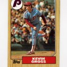1987 Topps Baseball #163 Kevin Gross - Philadelphia Phillies