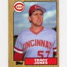 1987 Topps Baseball #146 Tracy Jones - Cincinnati Reds ExMt