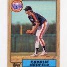 1987 Topps Baseball #145 Charlie Kerfeld - Houston Astros
