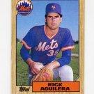 1987 Topps Baseball #103 Rick Aguilera - New York Mets