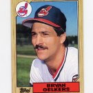 1987 Topps Baseball #077 Bryan Oelkers - Cleveland Indians NM-M