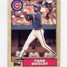 1987 Topps Baseball #058 Thad Bosley - Chicago Cubs