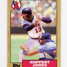 1987 Topps Baseball #053 Ruppert Jones - California Angels
