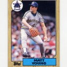 1987 Topps Baseball #019 Matt Young - Seattle Mariners