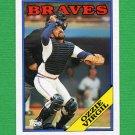 1988 Topps Baseball #755 Ozzie Virgil - Atlanta Braves NM-M