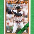 1988 Topps Baseball #743 Larry Herndon - Detroit Tigers