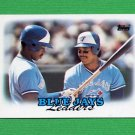 1988 Topps Baseball #729 Toronto Blue Jays Team Leaders / George Bell / Fred McGriff